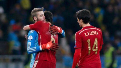 De Gea salva a una España horrorosa en defensa y que no mereció ganar a Ucrania (0-1)