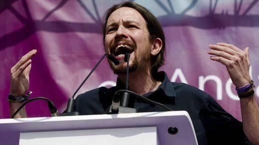 Iglesias intenta tomar la iniciativa del debate con una invitación formal a Rivera, Rajoy y Sánchez