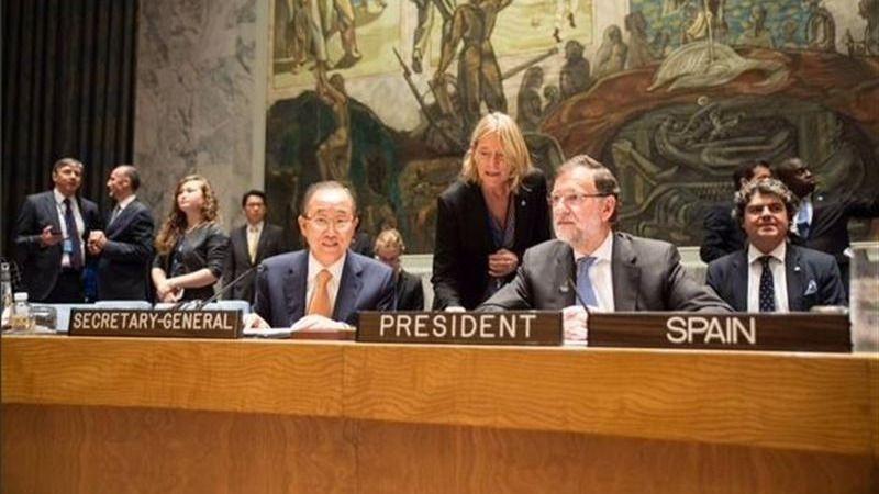 Rajoy en la ONU: 'Muchas veces en un conflicto es más peligroso ser mujer que soldado'