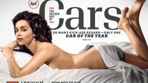 La 'Khaleesi' Emilia Clarke es la mujer más 'sexy' del mundo