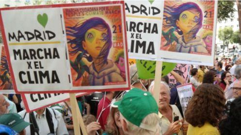 España busca un récord de asistentes a la Marcha Mundial por el Clima