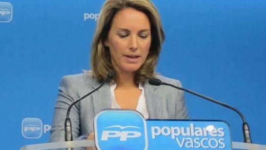 Quiroga dimite como presidenta del PP vasco víctima de la presión por acercarse a Bildu