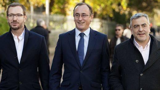 Alonso, proclamado por unanimidad nuevo presidente del PP vasco