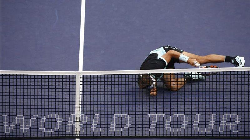 Nadal cae en semifinales de Shanghái y sufre ante Tsonga por 4-6 y 6-0 y 5-7