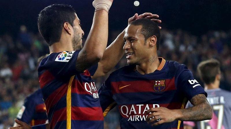Neymar hace de Messi y fulmina a un Rayo valiente en el Nou Camp (5-2)
