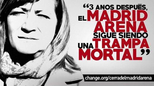 Campaña para cerrar el Madrid Arena a los tres años de la tragedia en la que murieron cinco jóvenes