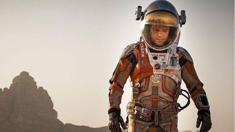 La aventura de Matt Damon en 'Marte' conquista la taquilla española