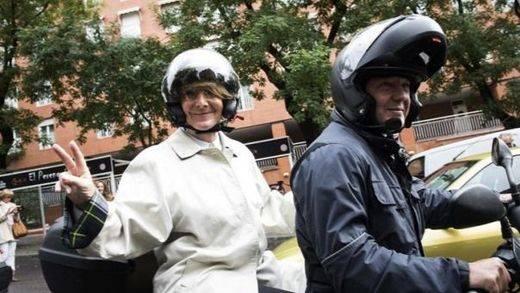 Aguirre exige a Carmena que convoque un referéndum si quiere cerrar el tráfico en el centro de Madrid
