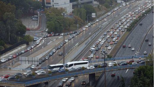 ¿Quién es responsable del caos de tráfico en Madrid en días de lluvia?