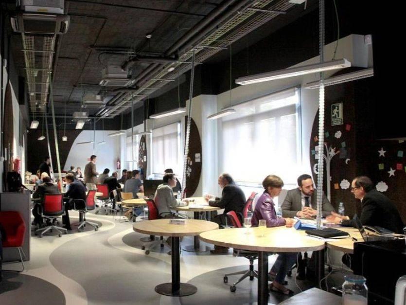 Espacio de la Aceleradora Startup Alcobendas