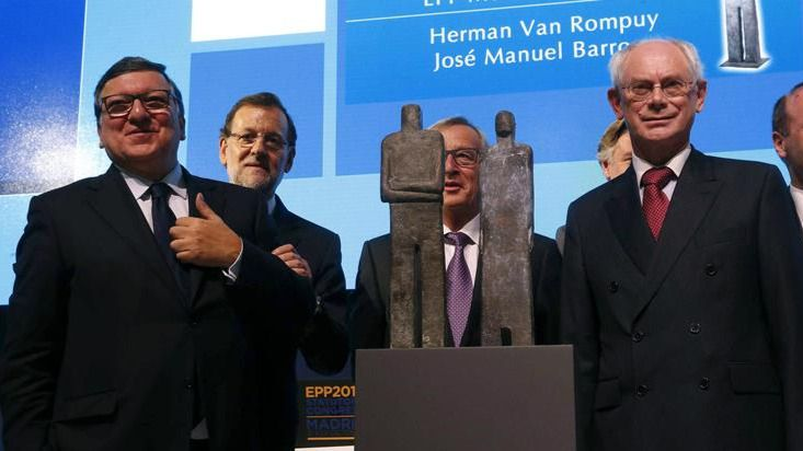 Barroso y Van Rompuy desean a Rajoy 'éxito' el 20D: 'Mariano, estamos con vosotros'