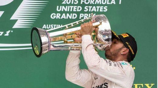 Hamilton gana en EEUU y se corona triple campeón mundial