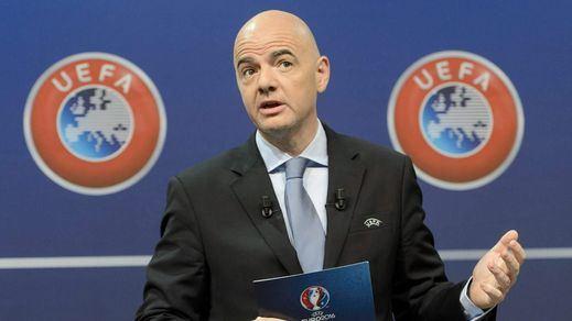 La UEFA aúpa a su secretario general Gianni Infantino a la pugna por la presidencia de la FIFA