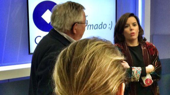 """Sáenz de Santamaría advierte de que """"un Gobierno en funciones tiene capacidad para actuar"""""""