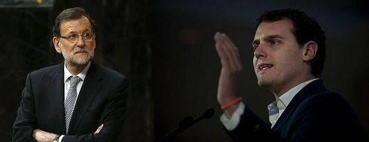 Rivera explota mediáticamente que Rajoy ya le incluya entre los líderes de la oposición