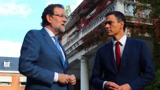 'Ahora en común': Rajoy y Sánchez afrontarán juntos el reto secesionista catalán