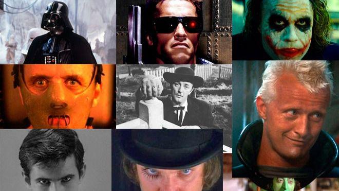 Los veinte 'mejores' malos de la historia del cine