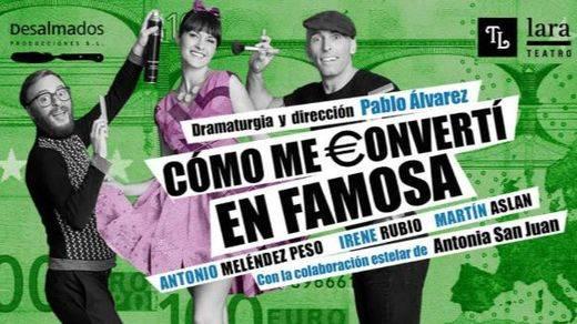 Pablo Álvarez nos ofrece más humor político a través del teatro en el Lara