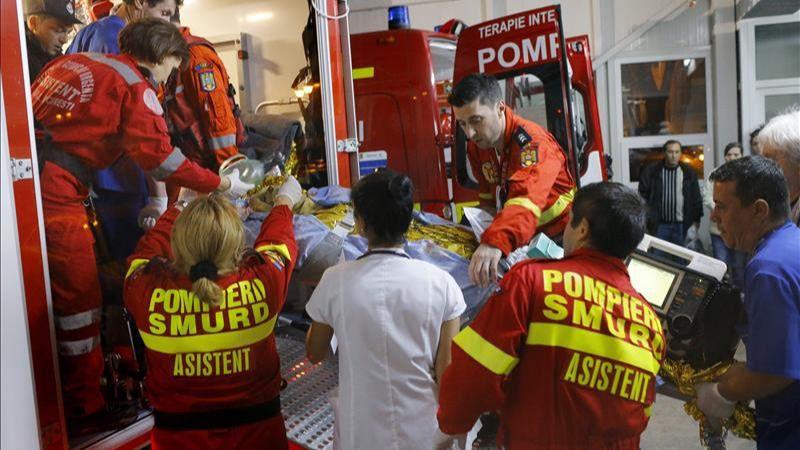 Dos españoles heridos en el incendio de la discoteca en Rumania