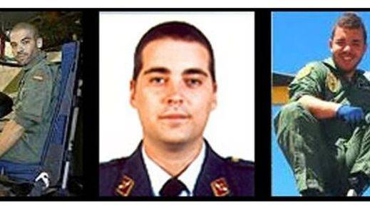 El funeral por los tes militares fallecidos se celebrará este domingo