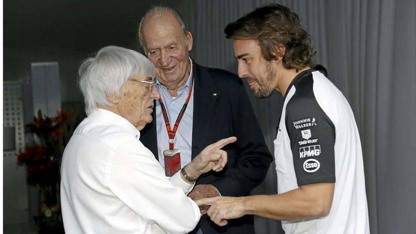 El rey Juan Carlos, confesor de Alonso: 'Me ha dicho que no tiene motor'