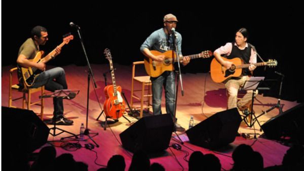 El polifacético Luis Barbería incorpora a los músicos cubanos en la Semana de Autor de la SGAE