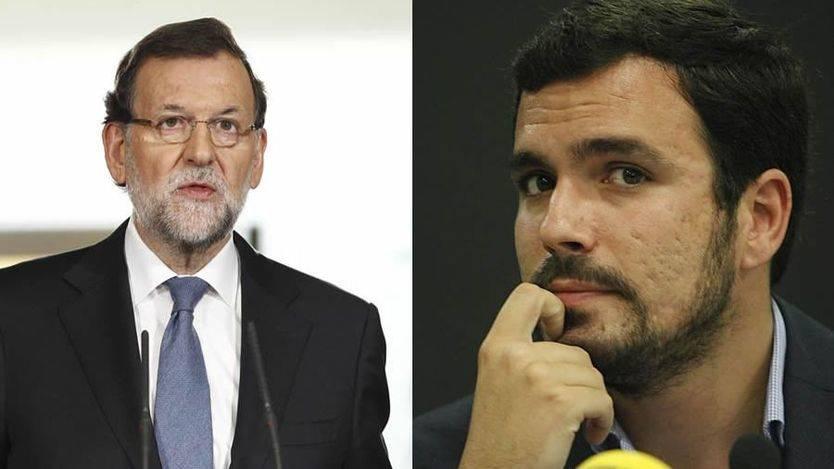 Rajoy continúa sus reuniones con los líderes de la oposición: hoy, Alberto Garzón; mañana, Duran i Lleida y Herzog