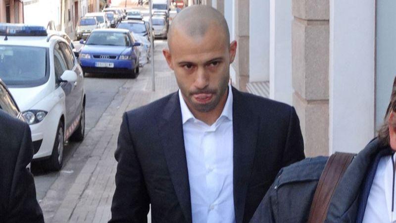 Tras reconocer su fraude, Mascherano negocia la multa con Hacienda