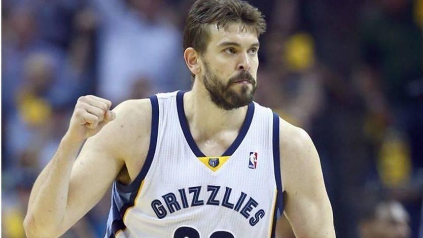 Cara y cruz de los Gasol en la NBA: Marc gana y Pau pierde