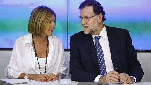 El PP cierra sus 'números 1' al Congreso con Cospedal y casi todos los ministros... y 'prejubilando' a Celia Villalobos