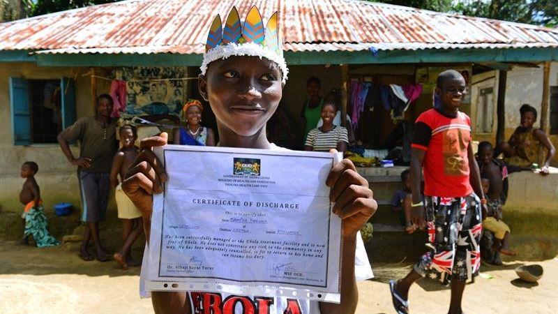 La OMS confirma a Sierra Leona como país libre de ébola