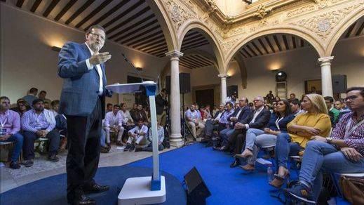 Rajoy pide una mayoría fuerte para que no haya un Parlamento que impida gobernar