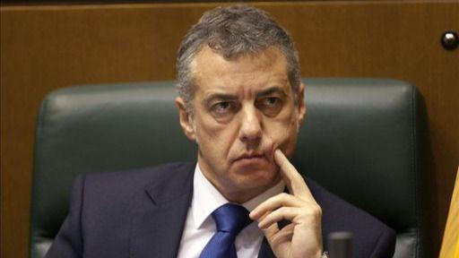 El lehendakari Urkullu señala que el 'único problema' de España es su modelo de Estado