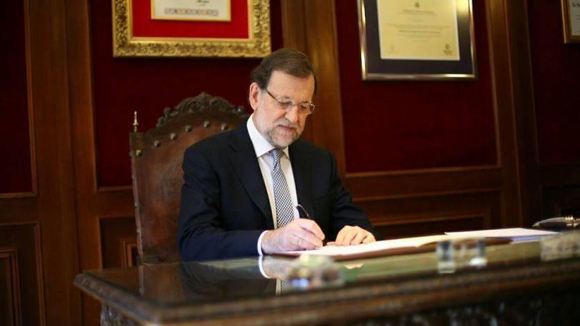 Rajoy firma la solicitud de Dictamen al Consejo de Estado minutos después de aprobarse la resolución en el Parlament