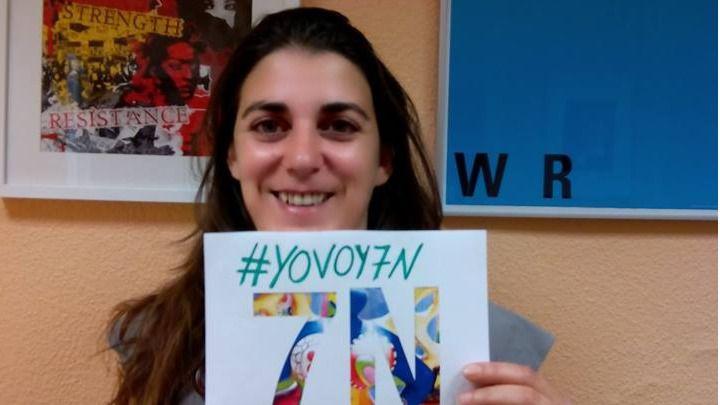 Noelia Landete, movimiento feminista 7-N: 'Vamos a exigir un compromiso a los partidos que se hicieron la foto'