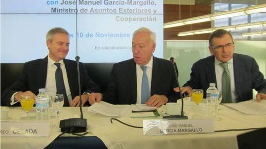 Margallo baraja la salida de Reino Unido de la UE y la creación de unos 'Estados Unidos del euro'