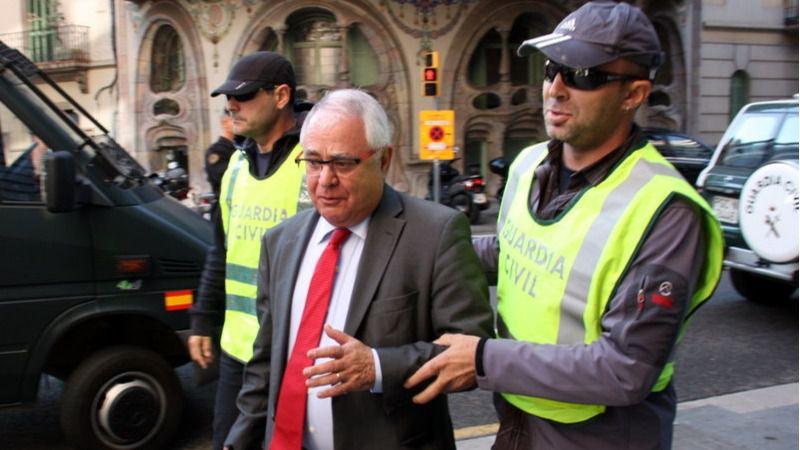 Viloca, el tesorero de Convergència, quedará en libertad tras pagar una fianza de 250.000 euros