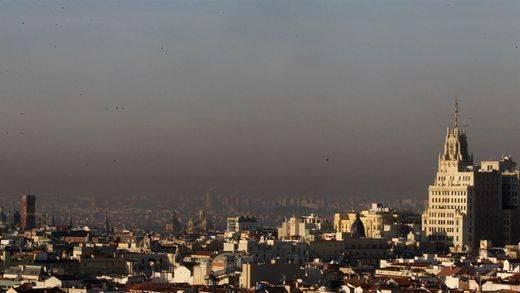 Madrid, en alerta por alta contaminación, aplica por primera vez la reducción de velocidad a 70 km/h