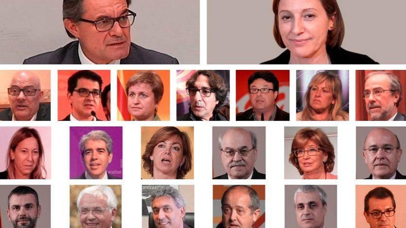Las penas a las que se enfrentan los líderes independentistas por desobedecer al Constitucional: incluso la cárcel