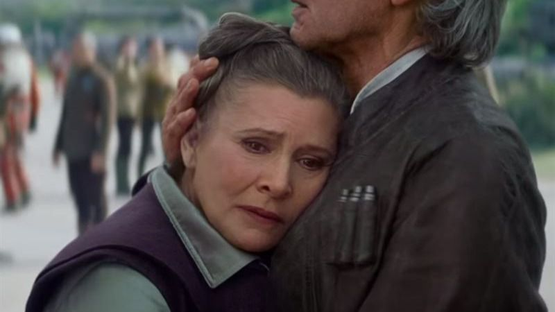 Star Wars VII: Leia, ¿de princesa a general?