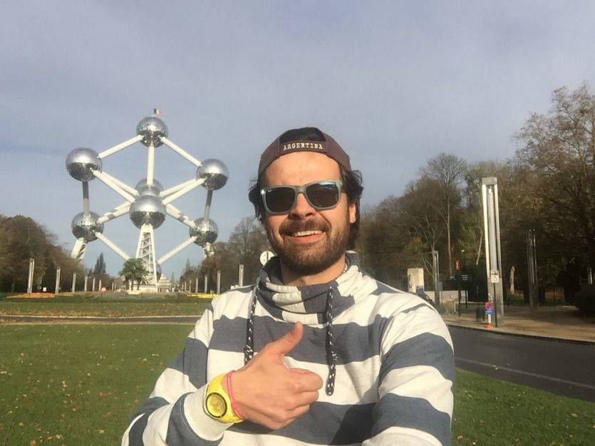 Edu Pesquera llega a Bruselas