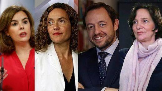 Los candidatos en la sombra: descubre quiénes son los 'número dos' para el 20-D