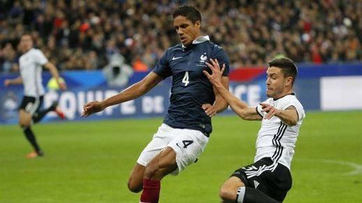 'La Marsellesa' atrona en Wembley como repulsa al terrorismo en el Inglaterra-Francia (2-0)