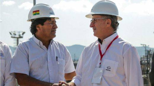 Repsol alcanza un récord de producción en Bolivia