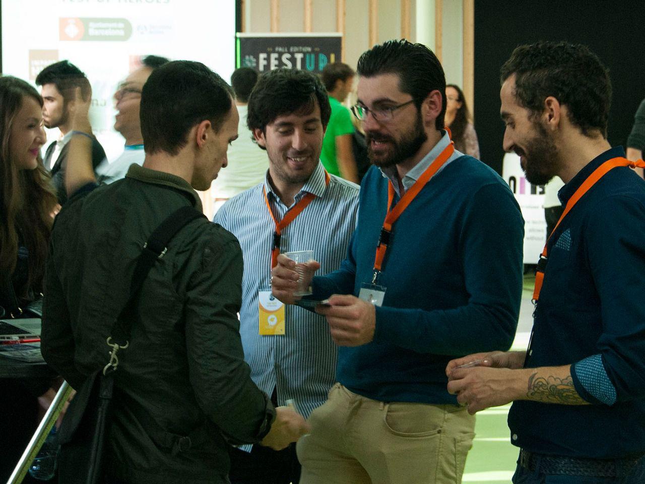 Más de 600 personas se dan cita en el festival de emprendedores de Barcelona