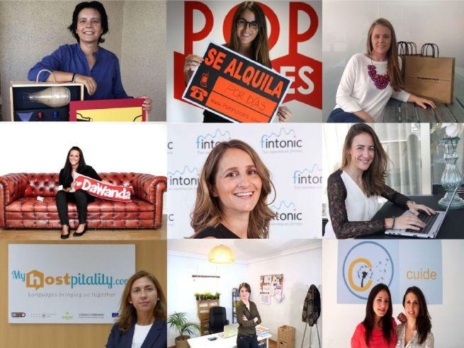 Hoy nuestras protagonistas son ellas: las mujeres emprendedoras