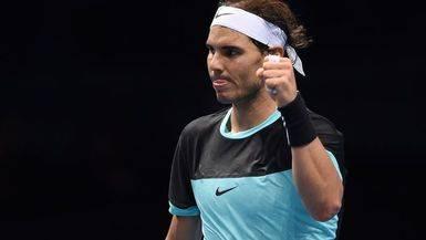Nadal confirma su pleno en Londres ante un Ferrer irreductible (6-7, 6-3 y 6-4)