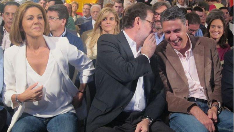 Rajoy, desde Barcelona, avisa: 'No queremos adoptar más medidas, pero no depende de nosotros'