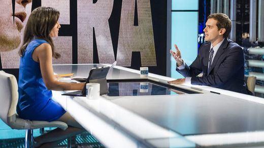 Rivera huye de la etiqueta de 'marca blanca' del PP: asegura que no investirá a Rajoy