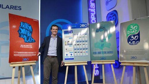 El PP apuesta por una campaña en las redes sociales, pero esconde a qué debates irá Rajoy